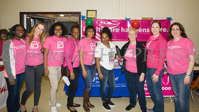 Planned Parenthood Mid-Hudson Valley was on hand for the Poughkeepsie Healthy Black and Latino Coalition's celebration of Black History Month that included a Healthy Living Expo at the Catherine Street Community Center in Poughkeepsie, NY on Saturday, February 25, 2017. Hudson Valley Press/CHUCK STEWART, JR.