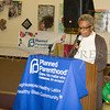 Arlette Murrain of Maternal Infant Services Network offers remarks as the Poughkeepsie Healthy Black and Latino Coalition celebrated Black History Month with a Healthy Living Expo at the Catherine Street Community Center in Poughkeepsie, NY on Saturday, February 25, 2017. Hudson Valley Press/CHUCK STEWART, JR.