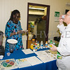 Vintou Hinds with Cornell Cooperative Extension prepares healthy drinks as the Poughkeepsie Healthy Black and Latino Coalition celebrated Black History Month with a Healthy Living Expo at the Catherine Street Community Center in Poughkeepsie, NY on Saturday, February 25, 2017. Hudson Valley Press/CHUCK STEWART, JR.
