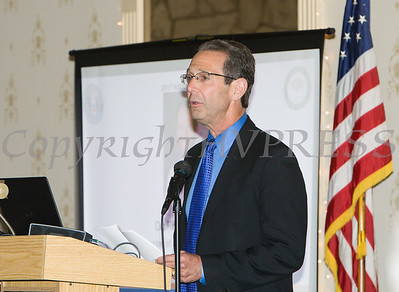 Dr. Ronald Israelski was honored during the 22nd Annual Orange County Human Rights Commission Awards Dinner held on Wednesday, April 19 at Kuhl's Highland House in Middletown. Hudson Press/CHUCK STEWART, JR.