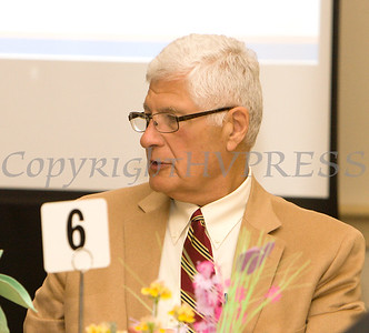 Judge Robert Onofry attended the 22nd Annual Orange County Human Rights Commission Awards Dinner, held on Wednesday, April 19 at Kuhl's Highland House in Middletown. Hudson Press/CHUCK STEWART, JR.