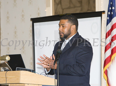 Abdullah N. Rahaman II was honored during the 22nd Annual Orange County Human Rights Commission Awards Dinner held on Wednesday, April 19 at Kuhl's Highland House in Middletown. Hudson Press/CHUCK STEWART, JR.