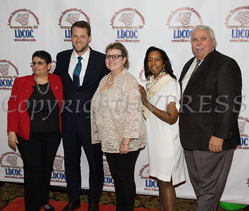 The Latino Democratic Committee of Orange County held their Fourteenth Annual Fall Dinner Dance at Cafe Internationale in Newburgh, NY on Saturday, October 14, 2017. Hudson Valley Press/CHUCK STEWART, JR.