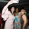 Annette Marzan, Lana Williams-Scott and Juana Leandry-Torres take a selfie at the Latino Democratic Committee of Orange County Fourteenth Annual Fall Dinner Dance at Cafe Internationale in Newburgh, NY on Saturday, October 14, 2017. Hudson Valley Press/CHUCK STEWART, JR.