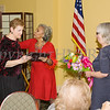 Meals on Wheels of Greater Newburgh Executive Director Robin Bello received a special recognition from Linda Lewis-Burger as Meals on Wheels celebrated its 45th anniversary and its founder, Frederica Warner's 100th birthday on Sunday, November 19, 2017 at the Powelton Club in Newburgh, NY. Hudson Valley Press/CHUCK STEWART, JR.