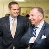 Orange County Executive Steven Neuhaus and Executive Vice President of Empire Resorts Charles Degliomini at the new Resorts World Catskills casino dealer school and educational center at Stewart International Airport in New Windsor, NY on Thursday, September 7, 2017. Hudson Valley Press/CHUCK STEWART, JR.