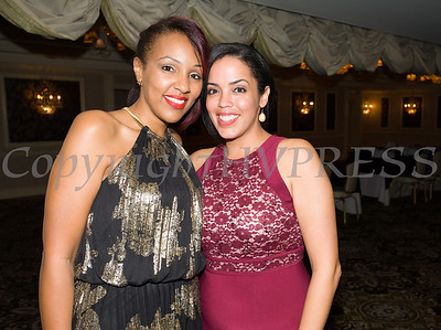 Sarita Green and Inaudy Esposito enjoy Safe Homes of Orange County Celebration of Hope Masquerade Ball on Friday, October 20, 2017. Hudson Valley Press/CHUCK STEWART, JR.