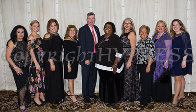 Members of the Board of Directos of Safe Homes of Orange County pose for a group photo as the organization celebrated its 31st Anniversary with a Celebration of Hope Masquerade Ball on Friday, October 20, 2017. Hudson Valley Press/CHUCK STEWART, JR.