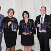 NYS Assemblyman James Skoufis, Cornerstone Family Healthcare President and CEO Linda Muller, Shannon Wong and Mauri Architects partners Martin Diesing and Richard Tompkins were honored by Safe Homes of Orange County at their Celebration of Hope Masquerade Ball on Friday, October 20, 2017. Hudson Valley Press/CHUCK STEWART, JR.
