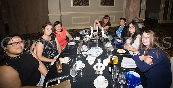 The 25th Annual Tribute to Women of Achievement of Orange County was held at Anthony's Pier 9 in New Windsor, NY on Wednesday, May 19, 2017. Hudson Press/CHUCK STEWART, JR.