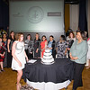 A cake was cut in celebration of the 25th Annual Tribute to Women of Achievement of Orange County held at Anthony's Pier 9 in New Windsor, NY on Wednesday, May 19, 2017. Hudson Press/CHUCK STEWART, JR.