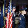 The Newburgh Free Academy AF Junior ROTC presented the colors during the 19th Annual Tuition Assistance Awards Celebration of the Major General Irene Trowell-Harris Chapter of the Tuskegee Airmen held on Saturday, February 4, 2017 at Anthony's Pier 9 in New Windsor, NY. Hudson Valley Press/CHUCK STEWART, JR.