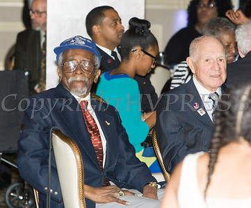Tuskegee Airmen Wilfred R. DeFour attended the 19th Annual Tuition Assistance Awards Celebration of the Major General Irene Trowell-Harris Chapter of the Tuskegee Airmen on Saturday, February 4, 2017 at Anthony's Pier 9 in New Windsor, NY. Hudson Valley Press/CHUCK STEWART, JR.