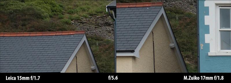 15mm vs 17mm corner sharpness