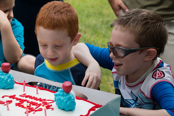 Connor's 6th Birthday Party