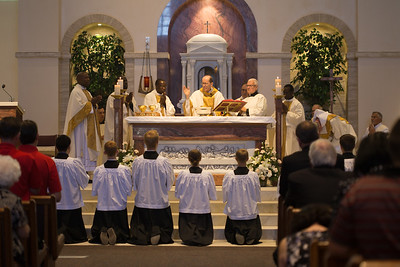 Continuing Our Vision- Sanctuary Renovation Mass of Dedication