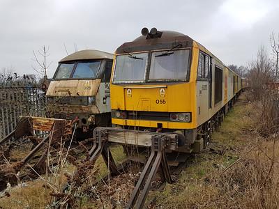 90025 & 60055 Crewe Electric.