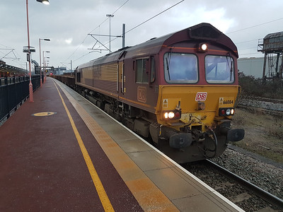 66084 1625/6R05 Bescot-Willesden at Rugby.