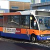 Centrebus Optare Solo YN53SVE 274 in Corby on the 16 to Raunds, 28.12.2017.