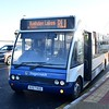 Stagecoach Optare Solo KX57KGC 47511 at Rushden Lakes on the RL1 from Northampton, 28.12.2017.