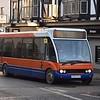 Centrebus Optare Solo KX55PFO 231 in Northampton on the 60 to Welford, 28.12.2017.