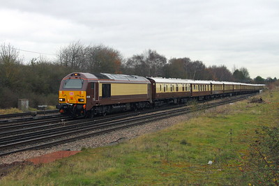 67021 Worting Junction 06/12/17 1V80 London Victoria to Bath