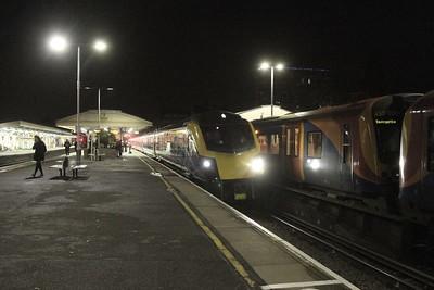 180104 Basingstoke 07/12/17 5O86 Old Oak Common to Eastleigh