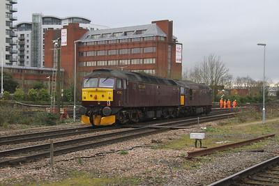 47245 Basingstoke 04/12/17 0Z60 Southall to Eastleigh