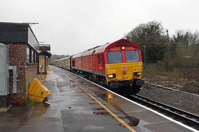 66114 Micheldever 11/12/17 5O61 Wembley to Eastleigh