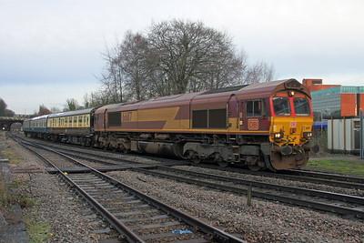 66117 Basingstoke 11/12/17 5Z45 Burton Wetmore Sidings to Eastleigh