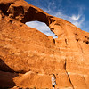 Shots of the scenery at Arches National Park.