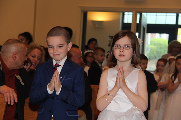 St. Barnabas First Holy Communion May 13th 2017