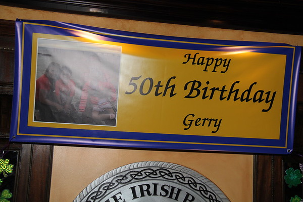 Gerry's 50th Birthday