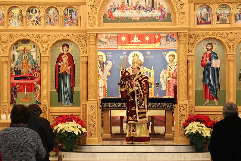 Liturgy in St. Clair Shores