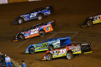 Gary McPherson (29m), Will Roland (22), Justin Shipley (08) and Tim McCreadie (39)