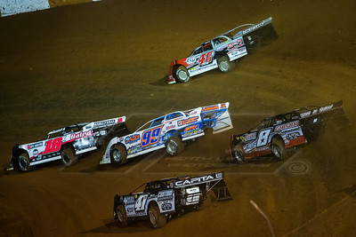 Michael Page (18X), Ross Bailes (40), Boom Briggs (99B), TJ Reaid (41), and David Payne (8)