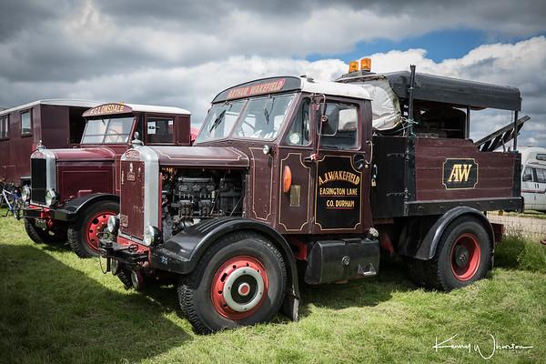 XMM 73 Scammell MV ballast box tractor 1953 Arthur Wakefield