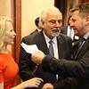 Liechtenstein's FM Aurelia Frick, Malta's Deputy PM Louis Grech, Iceland's FM Guðlaugur Þór Þórðarson