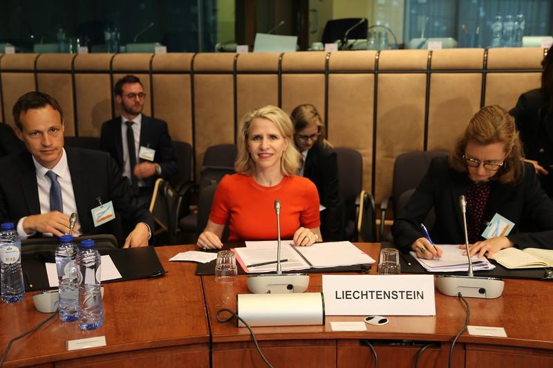 Liechtenstein's FM Aurelia Frick