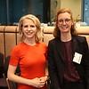Liechtenstein's FM Aurelia Frick, Liechtenstein's Ambassador to the EU, Sabine Monauni