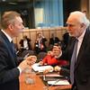 EEA/EU minister Frank Bakke-Jensen and Malta's deputy PM Louis Grech