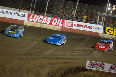 Austin Retting (94), Kyle Bronson (40B) and Earl Pearson, Jr. (1)