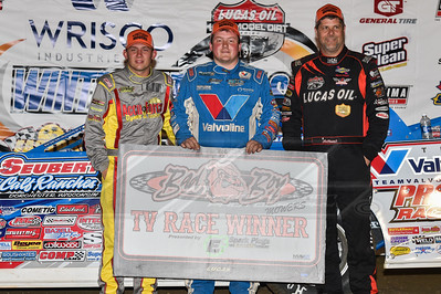 Devin Moran (L), Brandon Sheppard (C) and Earl Pearson, Jr. (R)