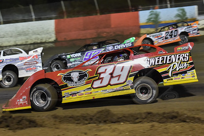 Tim McCreadie (39), Nick Davis (92) and Doug Drown (240)