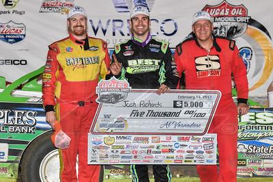 Austin Hubbard (L), Josh Richards (C), Tim Dohm (R)