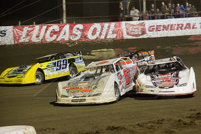 Greg Oaks (22), Tim Dohm (6T), and Frank EHckenast, Jr. (99JR)