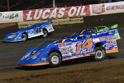 Corey Conley (14), Josh Richards (1) and Kyle Bronson (40B)