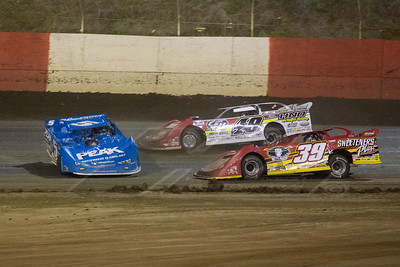 Don O'Neal (5), Jonathan Davenport (49) and Tim McCreadie (39)