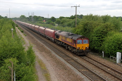66181 Stenson Junction 02/06/17 6M11 Washwood Heath to Peak Forest