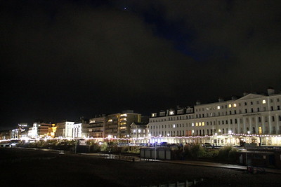 Eastbourne Promenade by night